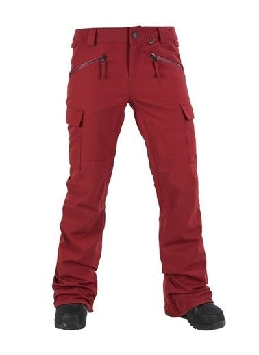 Volcom Kayak Pantolonu Kırmızı